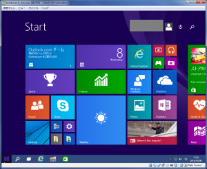 Windows10Preview スタート画面